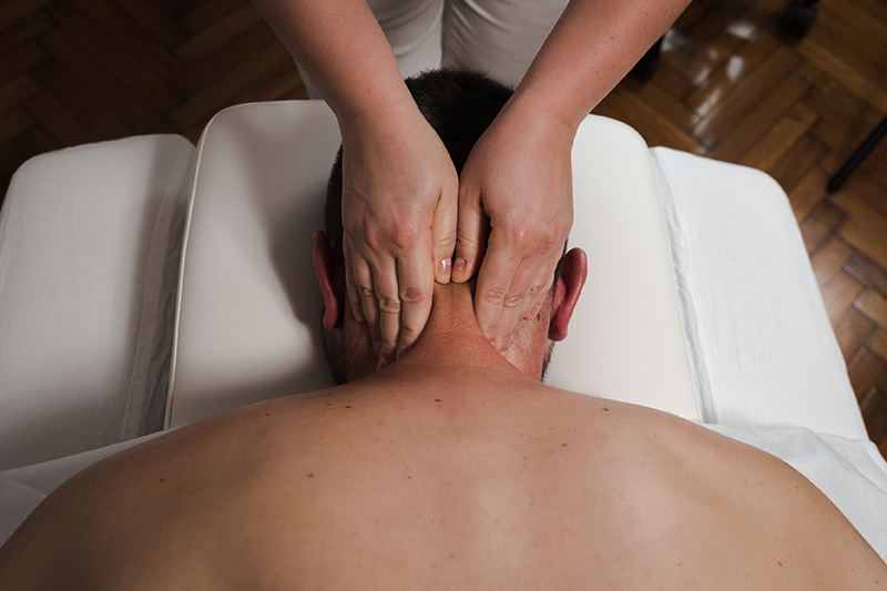 Tibetanska refleksna masaža vratu in glave